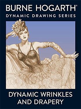 dynamic wrinkles drapery