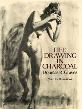 life drawing in charcoal