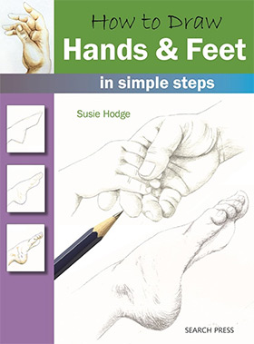 howto draw hands feet