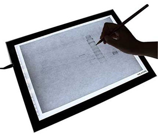 huion thin a3 lightpad