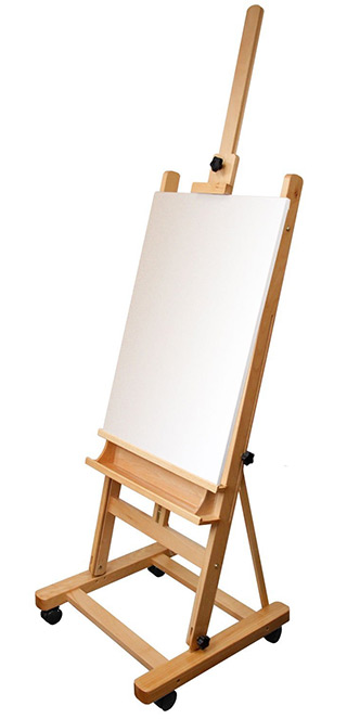 adjustable studio easel