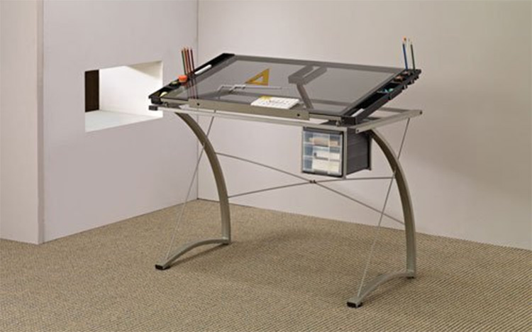 coaster artist drafting table - Best Art Desks & Drafting Tables For Artists