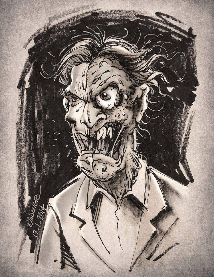 twoface character art