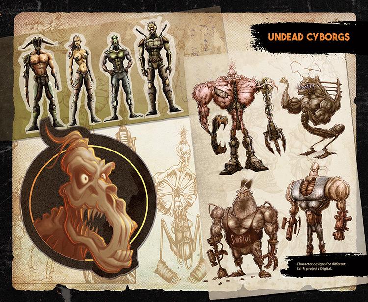 cyborg creatures