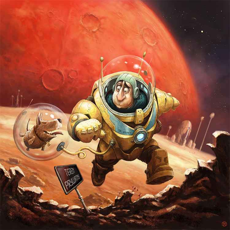 expedition to mars cover art