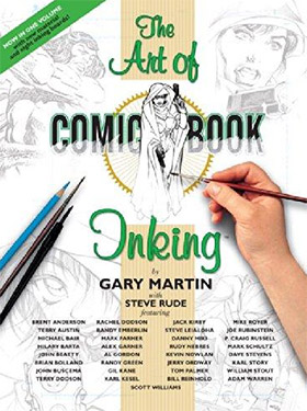 art of comic book inking