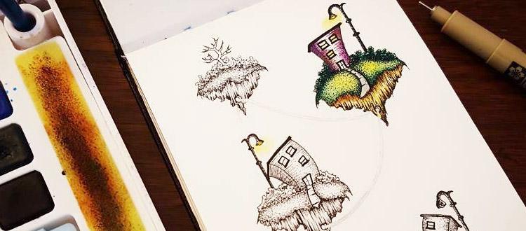 imaginative drawing