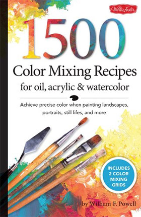 1500 color mixing recipes