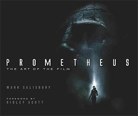 prometheus art of film