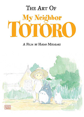 my neighbor totoro artbook