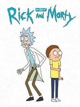 rick morty artbook