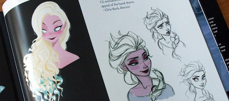 Frozen artbook