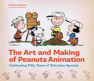 Peanuts animation art book