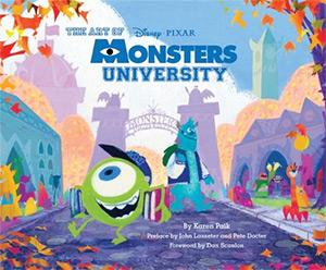 art of monsters uni