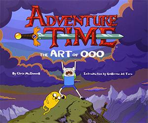art of ooo adventure time