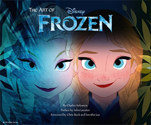 disney frozen artbook