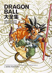 dragonball illustrations artbook