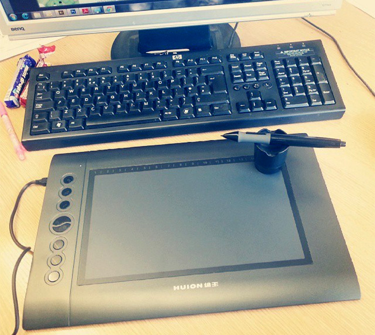 huion h610 pro tablet