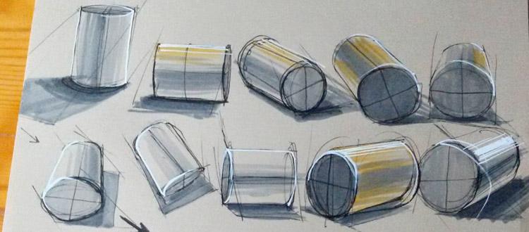 cylinder forms