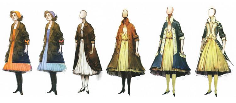 Bioshock Infinite costume art