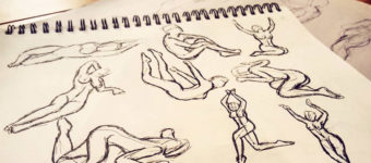 gesture drawing sketches