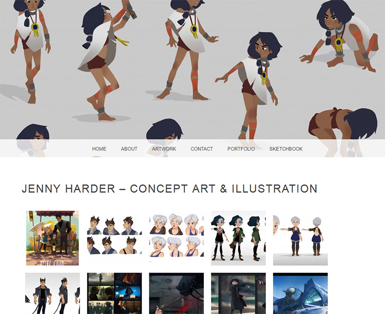 jenny harder illustrator website