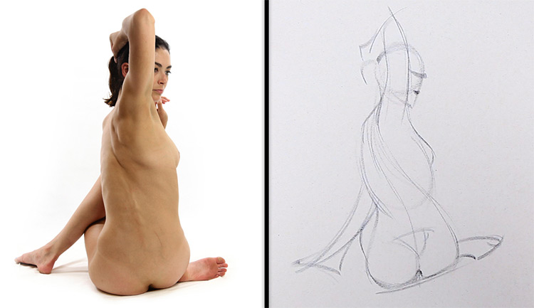 proko gesture drawing figure art