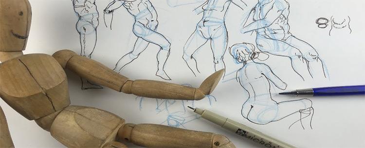 alphonso dunn drawing mannequins