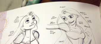 Tangled Rapunzel artbook