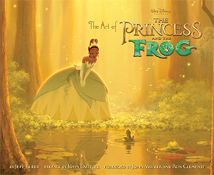 art of princess and frog