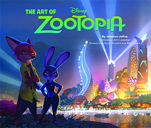 art of zootopia