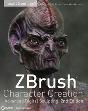 zbrush character book cover