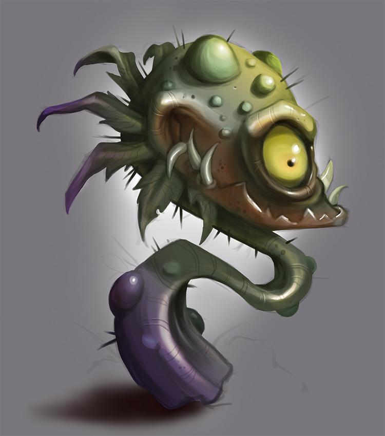 plant man eater concept art
