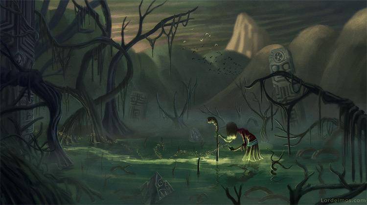 lantern swamp adventure