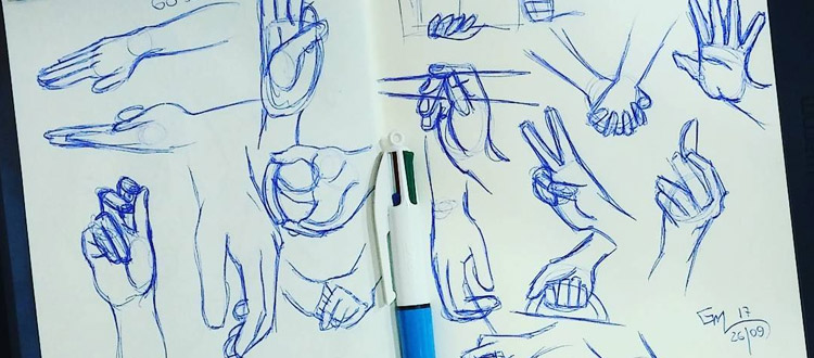 build a sketching habit