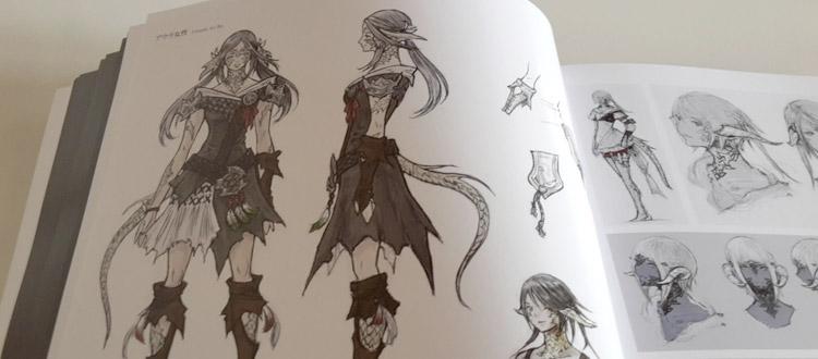 Japanese RPG artbooks