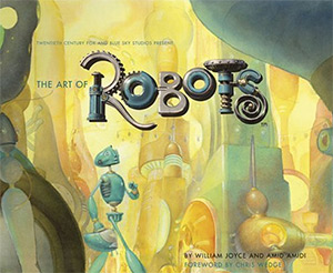 art of robots artbook