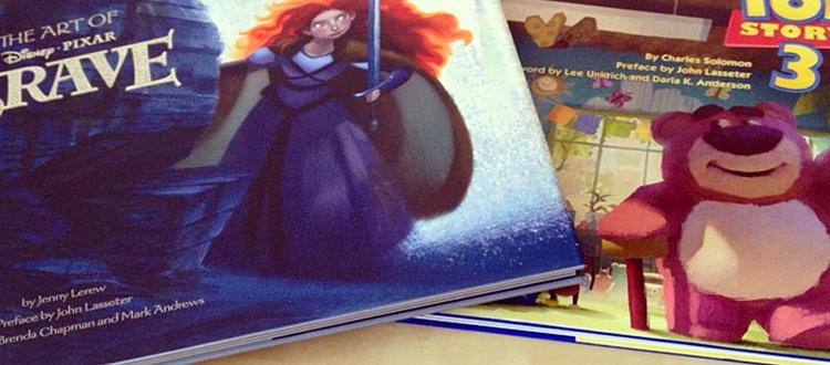 pixar artbooks