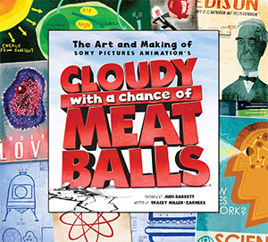 art of cloudy with meatballs