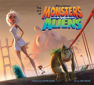 art of monsters v aliens