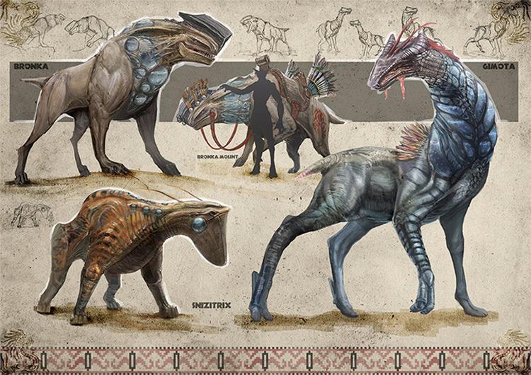 new world creatures dariusk