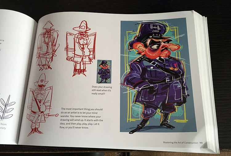 silver way character design example