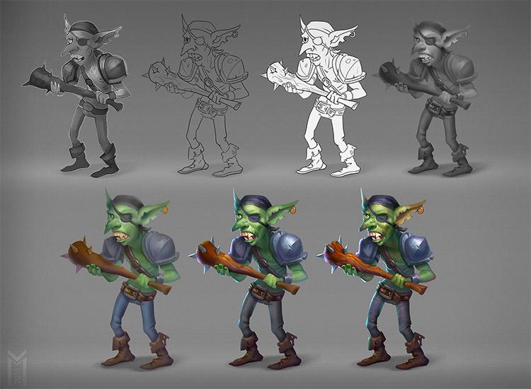 clubbing game goblin creature