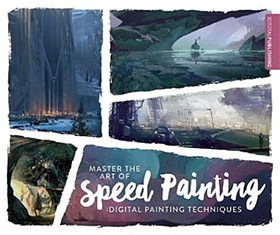 digital speed painting