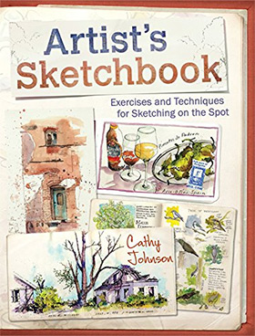 artists sketchbook cover