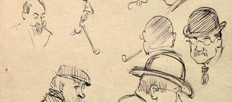 1915 old sketches