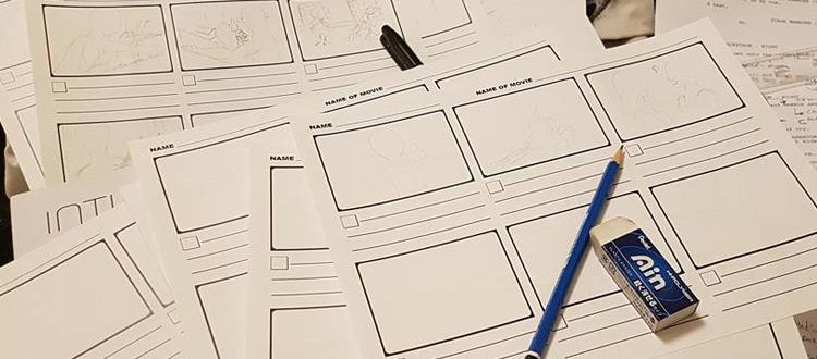 storyboard sheets