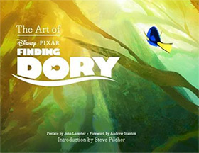 finding dory artbook