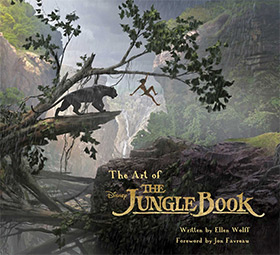 jungle book 2016 artbook