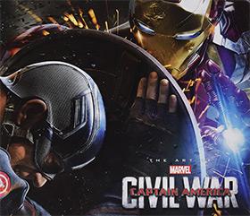 captain america civil war artbook
